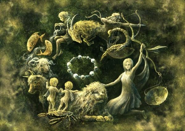 Tags: Anime, Shirakaba Toshiharu, Taurus, Seagoat, Scorpio, Virgo, Centaur, Libra, Pisces, Leo (Zodiac), Cancer, Capricorn (Zodiac), Aquarius