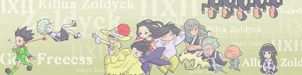 Tags: Anime, Donini, Hunter x Hunter, Milluki Zoldyck, Gon Freaks, Illumi Zoldyk, Killua Zoldyck, Zeno Zoldyck, Kalluto Zoldyck, Silva Zoldyck, Maha Zoldyck, Kikyo Zoldyck, Alluka Zoldyck