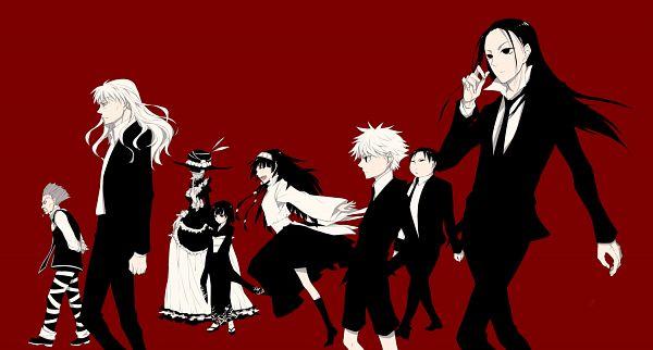 Tags: Anime, Qianmian, Hunter x Hunter, Kikyo Zoldyck, Killua Zoldyck, Alluka Zoldyck, Milluki Zoldyck, Illumi Zoldyk, Zeno Zoldyck, Kalluto Zoldyck, Silva Zoldyck, Grandfather, Facebook Cover