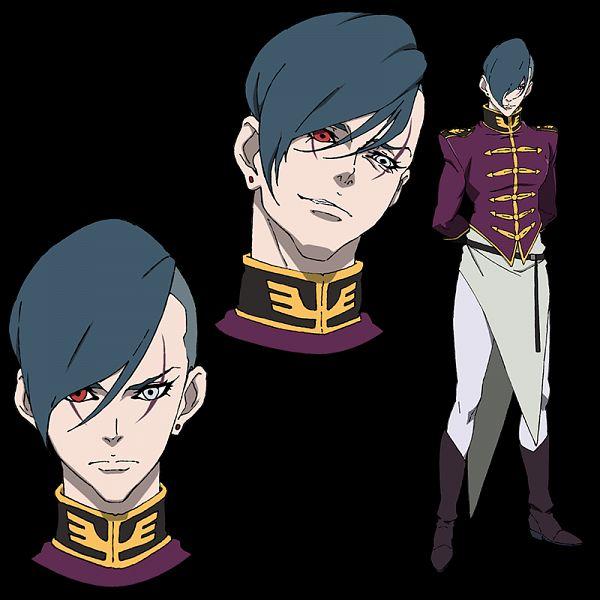 Zoltan Akkanen - Mobile Suit Gundam NT