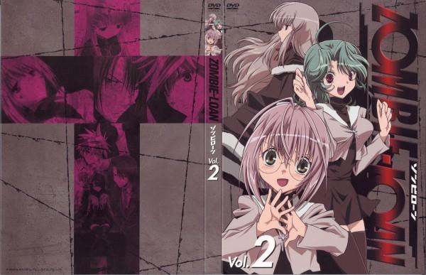 Tags: Anime, PEACH-PIT, Zombie-Loan, Yoitsuhara Koyomi, Kita Michiru, DVD (Source), Official Art