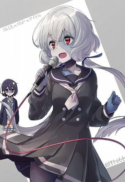 Tags: Anime, Pixiv Id 605284, Zombieland Saga, Konno Junko, Mizuno Ai, Fanart From Pixiv, Pixiv, Fanart