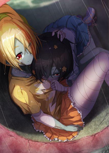 Tags: Anime, Matokechi, Zombieland Saga, Mizuno Ai, Nikaidou Saki, Fanart From Pixiv, Pixiv, Fanart