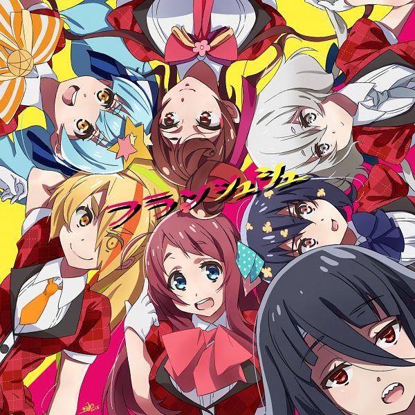 Tags: Anime, Pixiv Id 14659891, Zombieland Saga, Mizuno Ai, Nikaidou Saki, Hoshikawa Lily, Minamoto Sakura, Yuugiri (Zombieland Saga), Yamada Tae, Konno Junko, Idol
