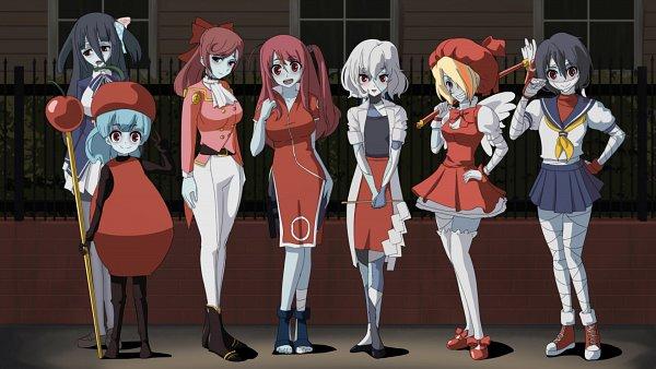 Tags: Anime, Pixiv Id 370252, Zombieland Saga, Mizuno Ai, Nikaidou Saki, Hoshikawa Lily, Minamoto Sakura, Yuugiri (Zombieland Saga), Yamada Tae, Konno Junko, Cardcaptor Sakura (Cosplay), Shinguuji Sakura (Cosplay), Kinomoto Sakura (Cosplay)