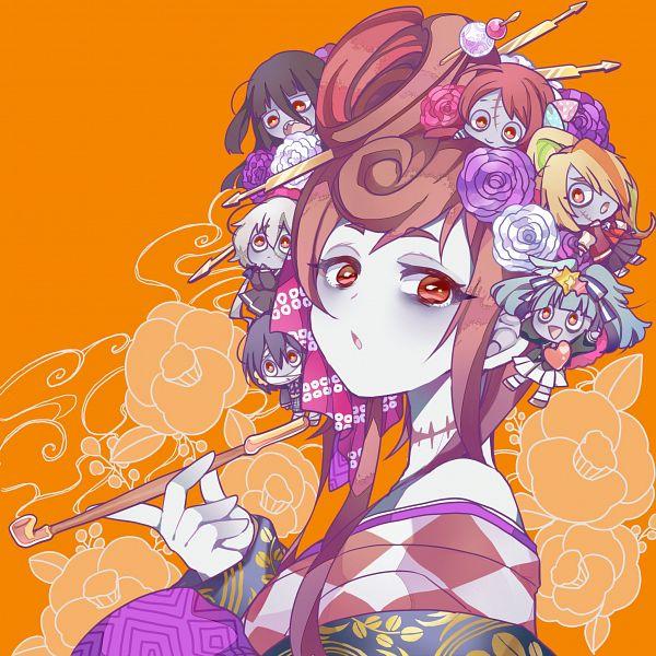 Tags: Anime, Tsukiri, Zombieland Saga, Mizuno Ai, Nikaidou Saki, Hoshikawa Lily, Minamoto Sakura, Yuugiri (Zombieland Saga), Yamada Tae, Konno Junko, Twitter, Fanart