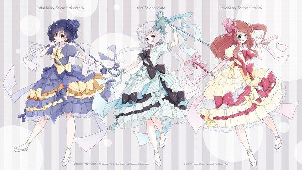 Tags: Anime, Pixiv Id 4712684, Zombieland Saga, Konno Junko, Mizuno Ai, Minamoto Sakura