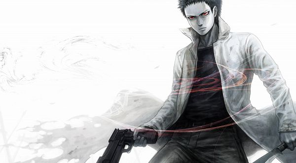 Tags: Anime, Ujuju, One Punch Man, Zombieman (One Punch Man), Pixiv, Facebook Cover, Fanart