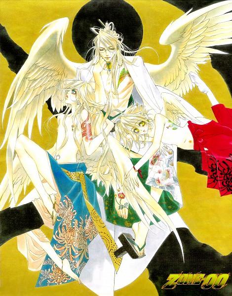 Tags: Anime, Kyujyo Kiyo, Zone-00, Bishamon Yatagarasu (Zone-00), Benio Yatagarasu (Zone-00), Benten Yatagarasu (Zone-00)