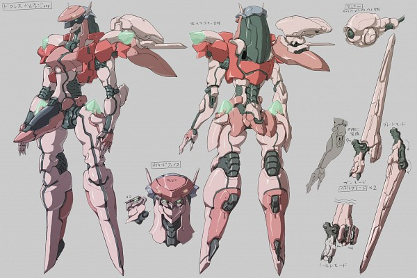 Tags: Anime, Pixiv Id 129946, Zone of the Enders: Dolores I, Zone of the Enders