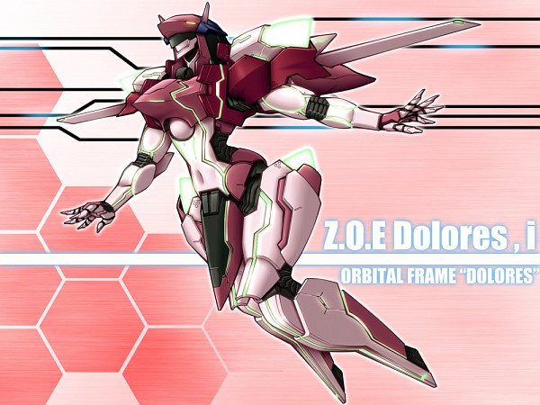 Tags: Anime, Humiduki Homura, Zone of the Enders: Dolores I, Zone of the Enders