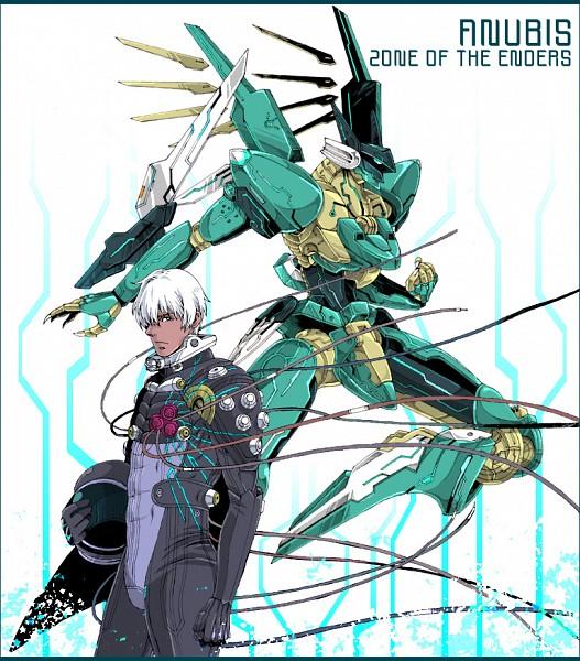 Tags: Anime, Charatei, KONAMI (Studio), Zone of the Enders, Dingo Egret, Jehuty