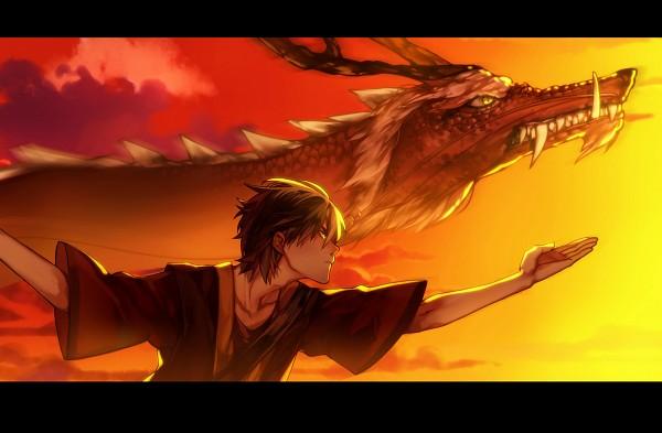 Tags: Anime, Pixiv Id 6027442, Avatar: The Last Airbender, Zuko, Chinese Dragon