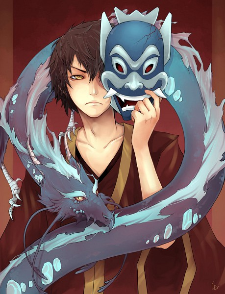 Tags: Anime, UdonNodu, Avatar: The Last Airbender, Zuko, Concentrated, Fanart, deviantART