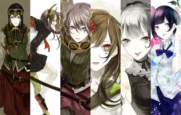 Tags: Anime, hakus, Steampunk, Original, Pixiv