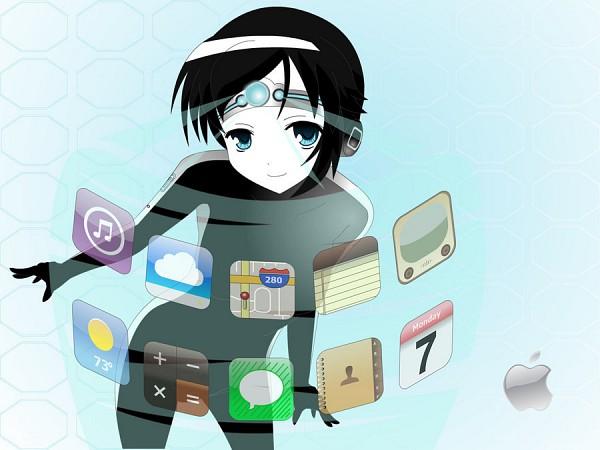 Tags: Anime, iPhone-tan, iPhone