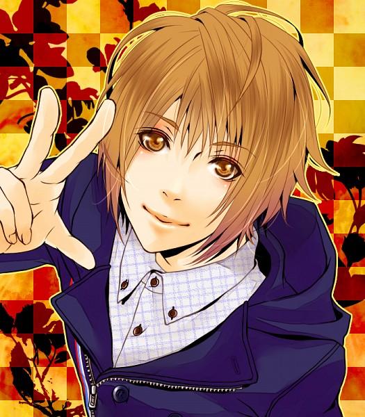 Tags: Anime, Pixiv Id 894885, maro., Checkered Shirt, Nico Nico Singer, Pixiv, Fanart