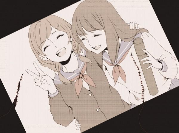 Tags: Anime, memessa, Graduation, Pixiv, Original