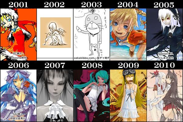 Tags: Anime, redjuice, SQUARE ENIX, DOGS: Bullets & Carnage, Doraemon, Rozen Maiden, Monogatari, Chrono Cross, Project DIVA F 2nd, VOCALOID, Suigintou, Oshino Shinobu, Hatsune Miku
