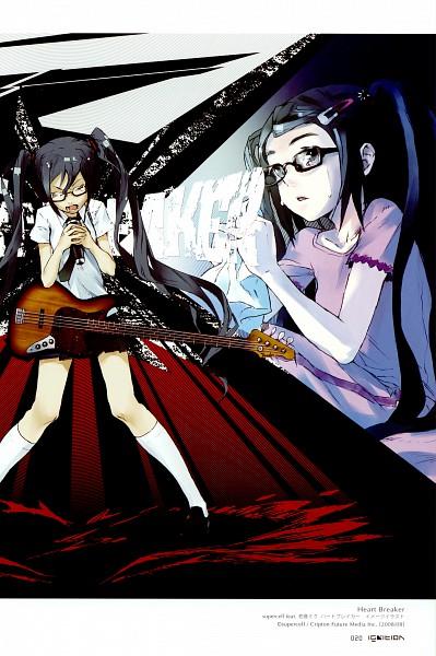 Tags: Anime, redjuice, Ignition, VOCALOID, Hatsune Miku, Bass Guitar, Pixiv, Heart Breaker