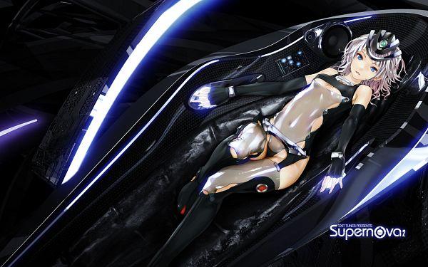 Tags: Anime, redjuice, Exit Tunes (Studio), Mecha Musume, Wallpaper, Supernova2, Pixiv
