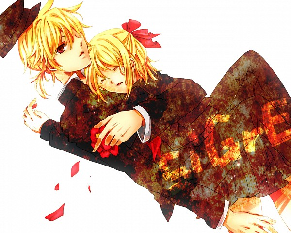 Tags: Anime, Kuchi, VOCALOID, Kagamine Rin, Kagamine Len, siGrE, Kagamine Mirrors