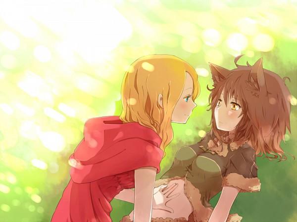 Tags: Anime, sou (Pixiv2760884), Red Riding Hood, Big Bad Wolf, Red Riding Hood (Character), Pixiv, Original