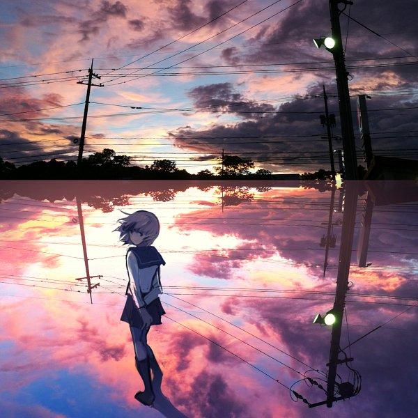 Tags: Anime, tarbo, Puddle, Pixiv, Original