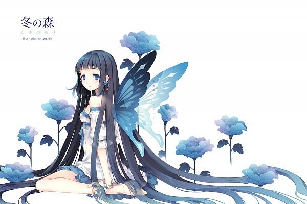Tags: Anime, tearfish, Text Background, Pixiv, Original