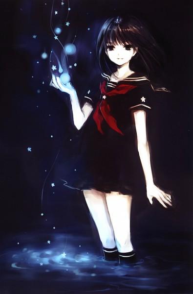 Tags: Anime, tearfish, Fuyu no Mori, Mobile Wallpaper, Original, Scan