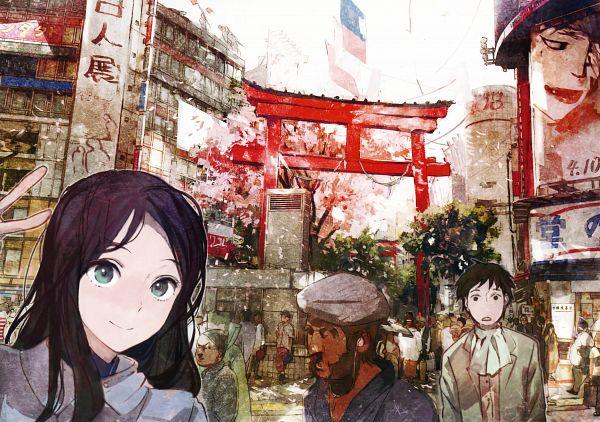 Tags: Anime, toi8, Eshi 100-nin Ten 04, Scan