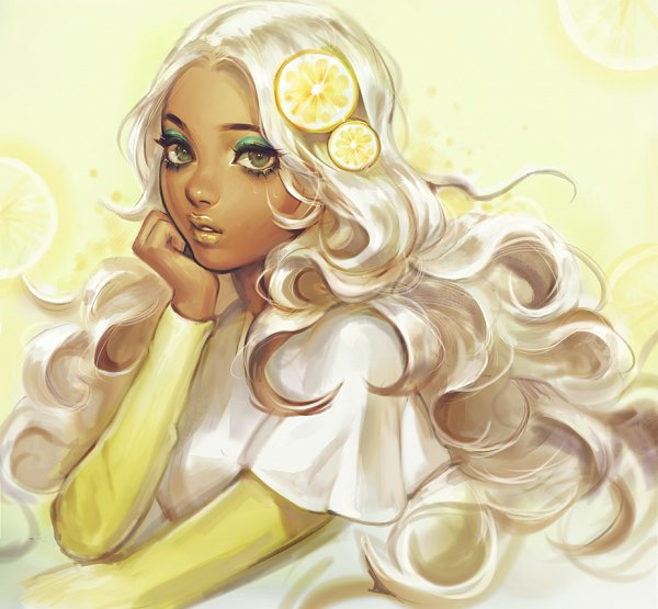 Tags: Anime, viorie, Lemon, Yellow Lips, Original, Tumblr, deviantART
