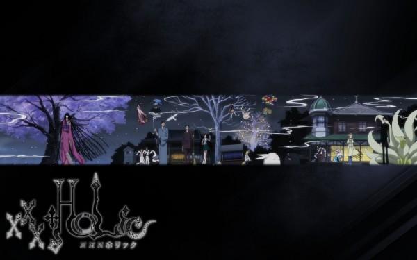 Tags: Anime, xxxHOLiC, Maru-dashi, Doumeki Shizuka, Ame-warashi, Watanuki Kimihiro, Zashiki-warashi, Kunogi Himawari, Mugetsu (xxxHOLiC), Moro-dashi, Ichihara Yuuko, 1680x1050 Wallpaper, Wallpaper