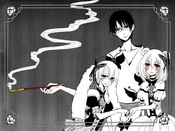 Tags: Anime, xxxHOLiC, Maru-dashi, Watanuki Kimihiro, Moro-dashi, Pixiv