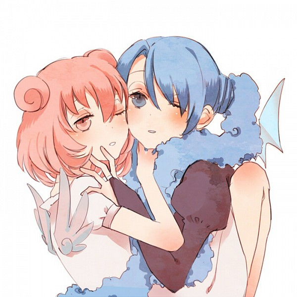 Tags: Anime, Pixiv Id 639258, xxxHOLiC, Maru-dashi, Moro-dashi, Cheeks Together